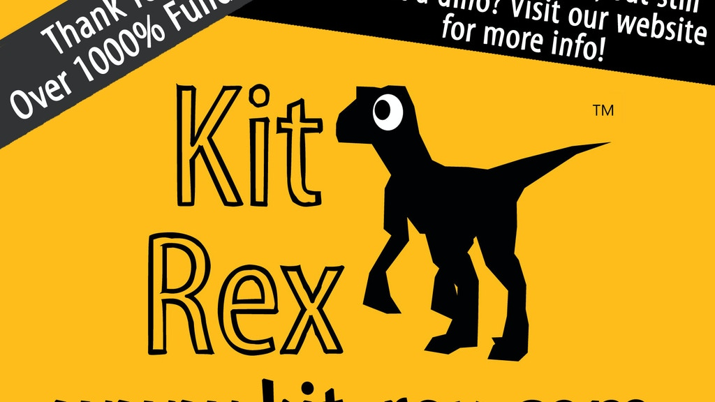 KitRex: the 3D paper velociraptor that you build yourself! project video thumbnail