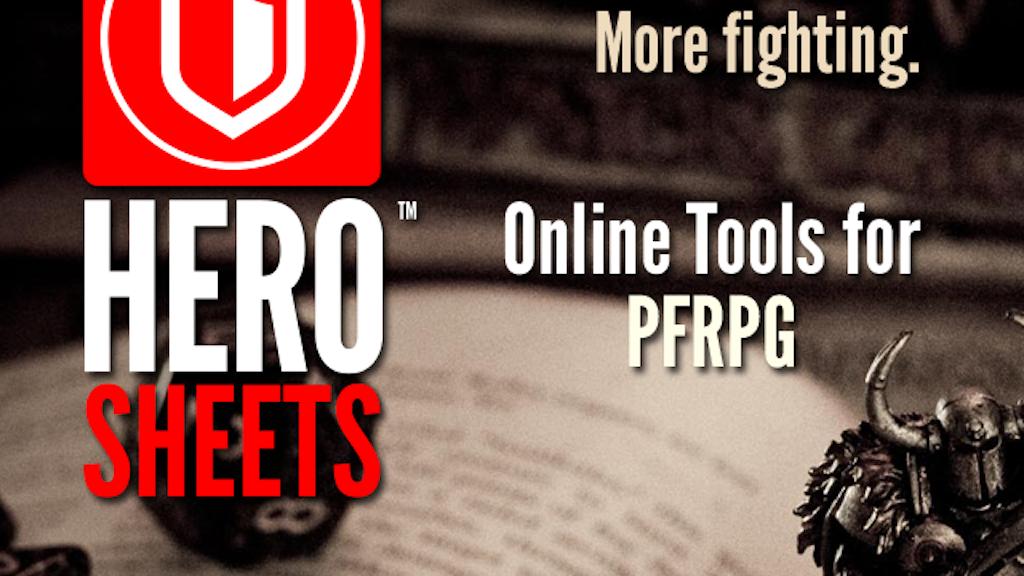 HeroSheets project video thumbnail