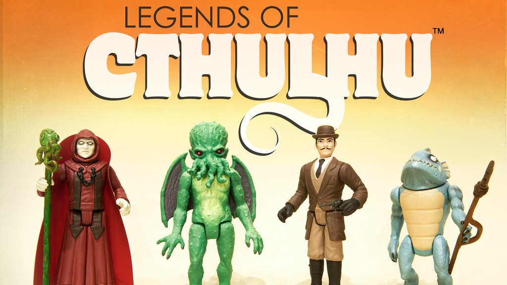 Legends of Cthulhu Retro Action Figure Toy Line project video thumbnail