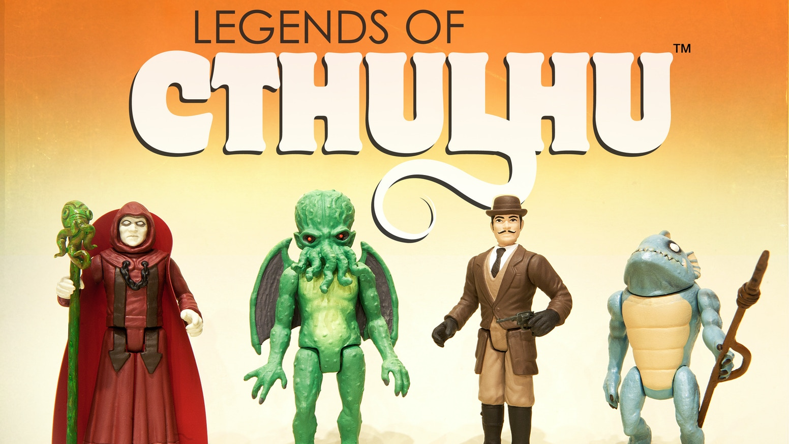 Legends of Cthulhu Retro Action Figure Toy Line by Warpo