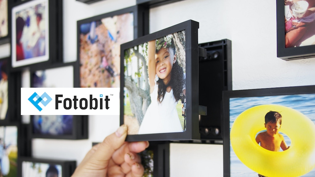 Fotobit: Modular Photo Framing System project video thumbnail
