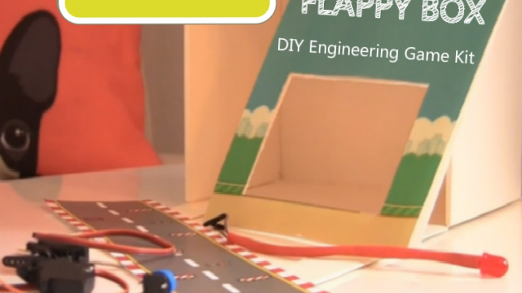 Make Flappy Box - DIY Game Kit project video thumbnail
