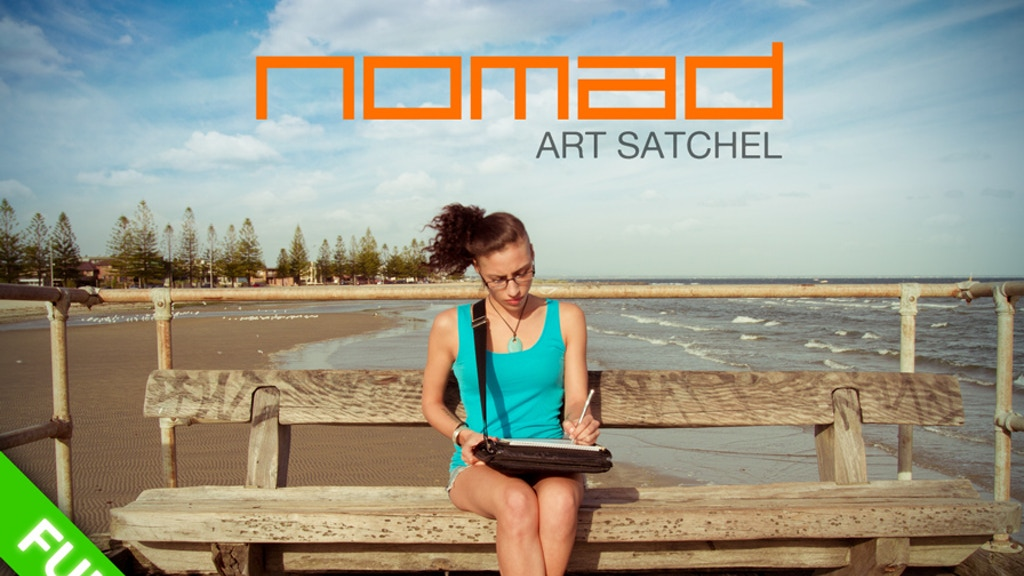 NOMAD Art Satchel: Create anywhere...Painlessly project video thumbnail