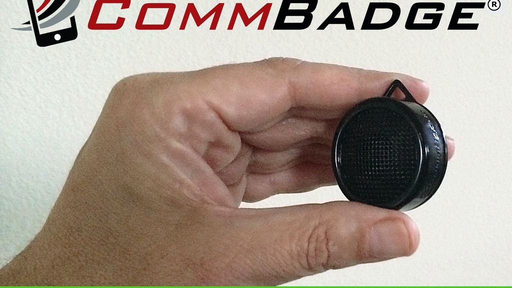Star Trek-Inspired Wearable Communicator for iOS & Android project video thumbnail