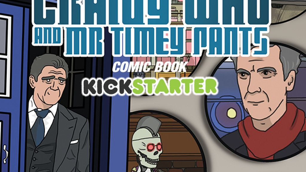 Craigy Who and Mr Timey Pants Comic Book Project project video thumbnail