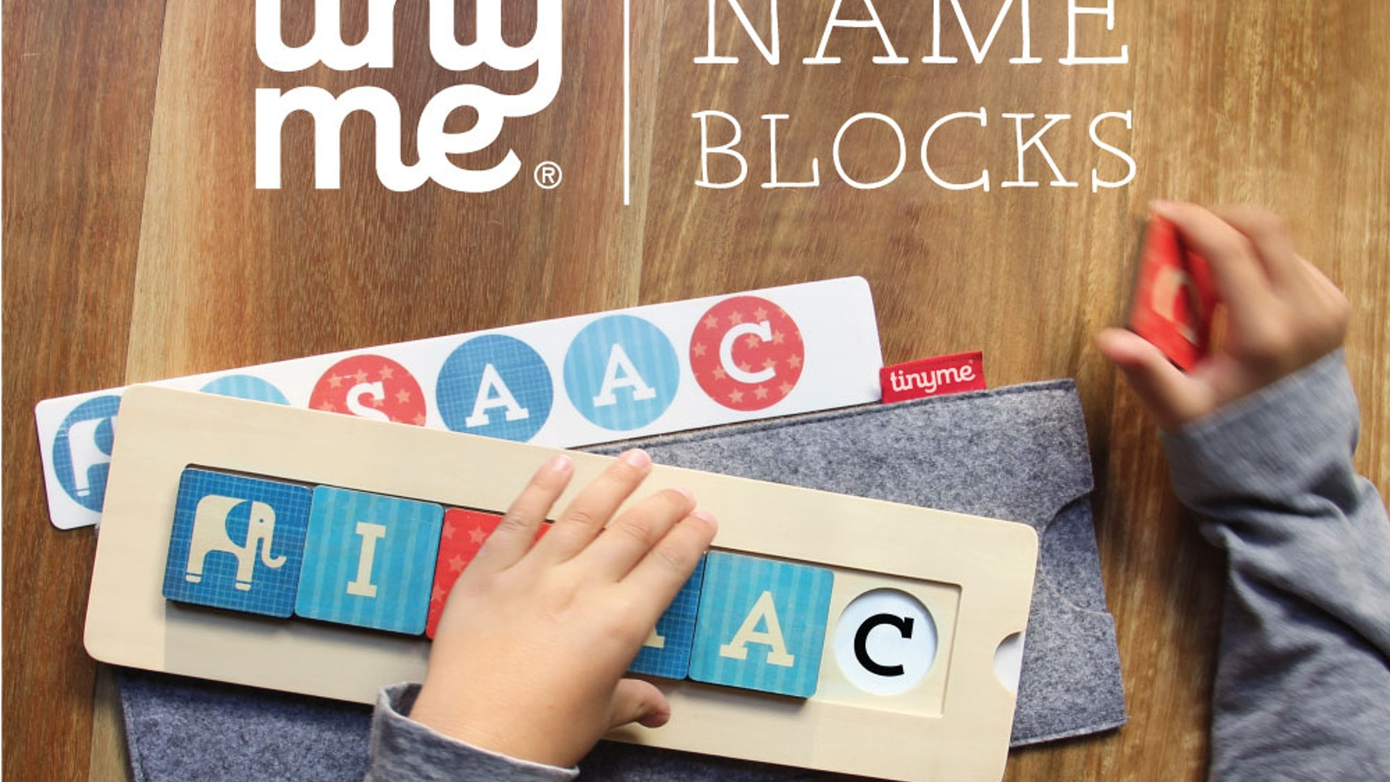 f409a077afcb9 TINYME NAME BLOCKS  the new wooden name puzzle by Tinyme — Kickstarter