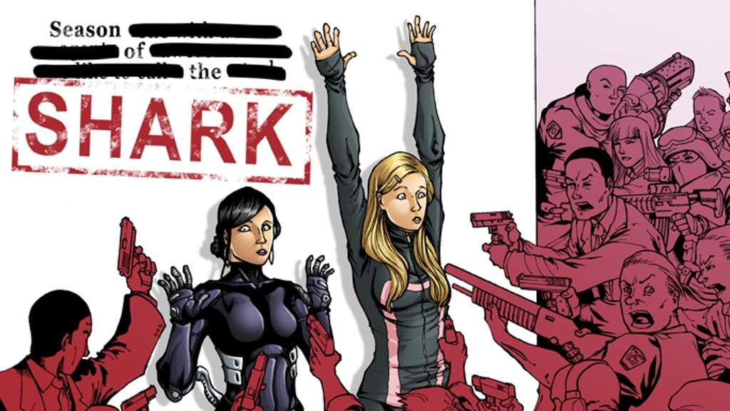 Season of the S.H.A.R.K. (Issues 1 - 4) project video thumbnail