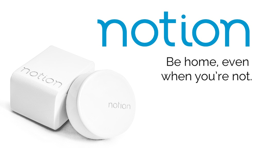 Notion: Be home, even when you're not. project video thumbnail