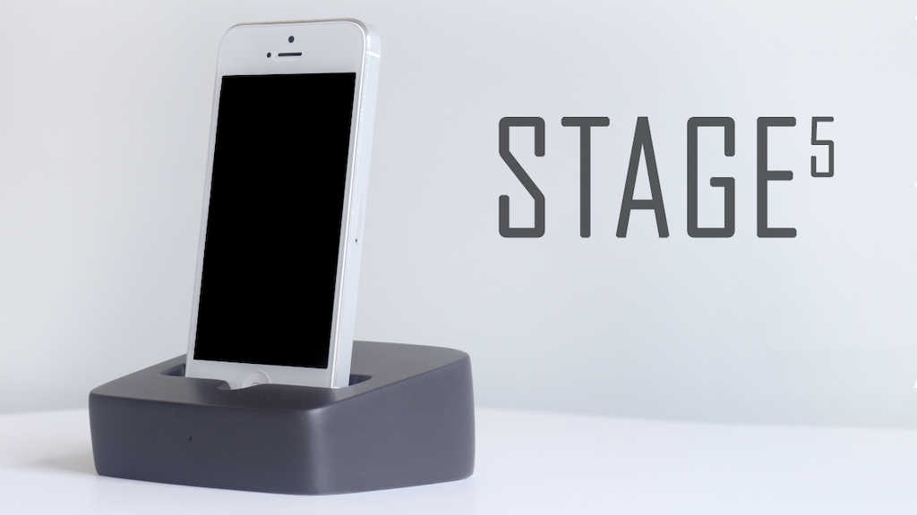 STAGE 5 Dock - First Smartdock for Iphone, Android & Tablets project video thumbnail