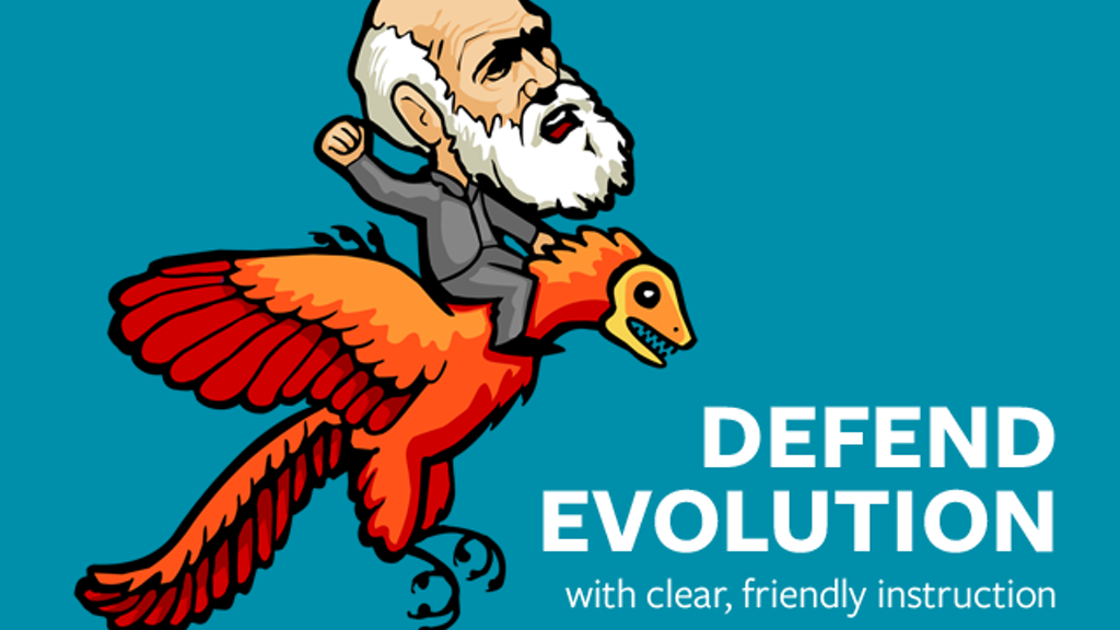 Defend Evolution With Clear Friendly Instruction project video thumbnail