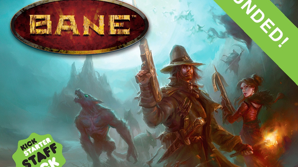 BANE : Tabletop Card Game project video thumbnail