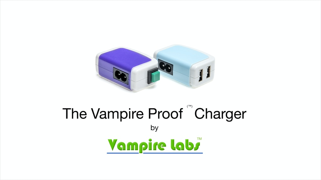 Vampire Proof: Get OFF the Grid - Smart Mobile Charging project video thumbnail