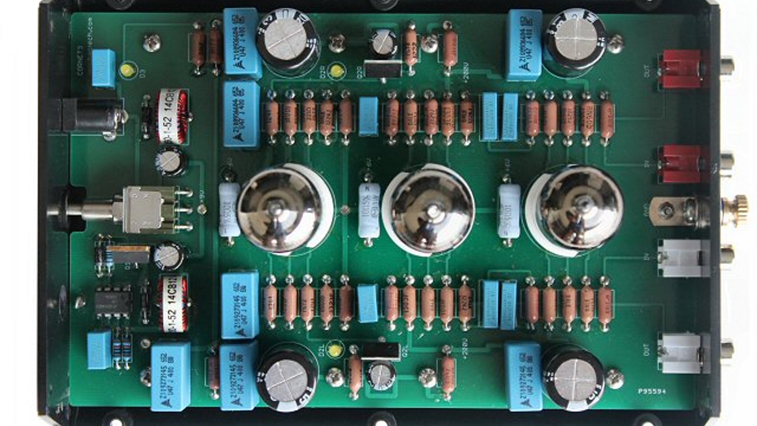 Cornet3 A Diy Tube Phono Preamp By Jim Hagerman Kickstarter Riaa Equalization Circuit