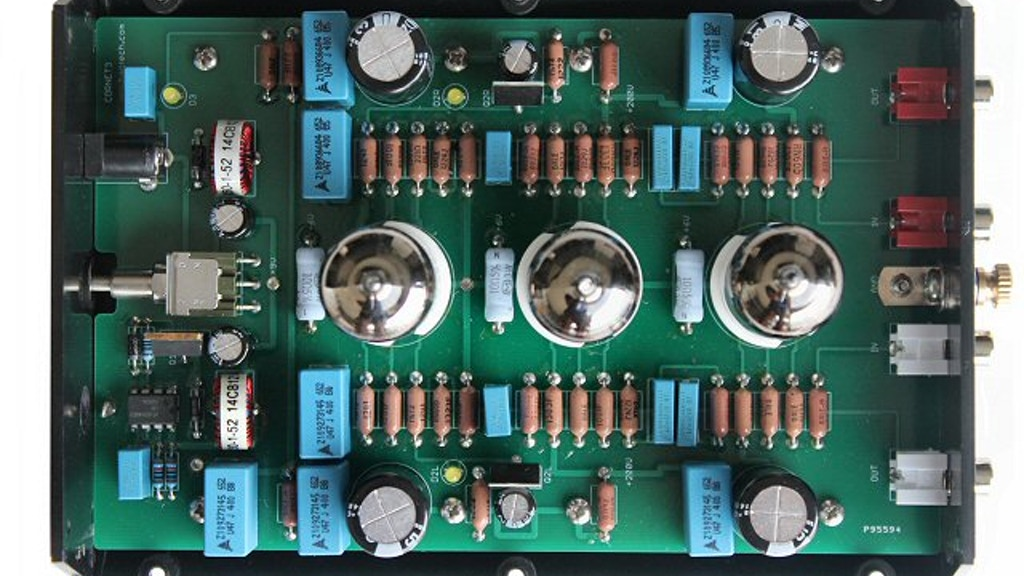 Cornet3: A DIY Tube Phono Preamp project video thumbnail