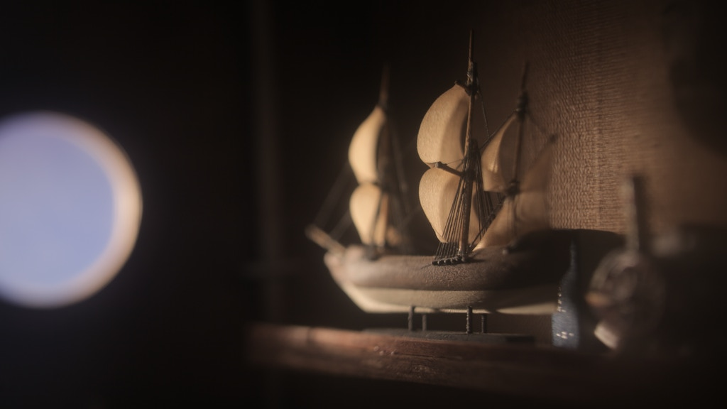 Ships of years past - stop-motion film project video thumbnail