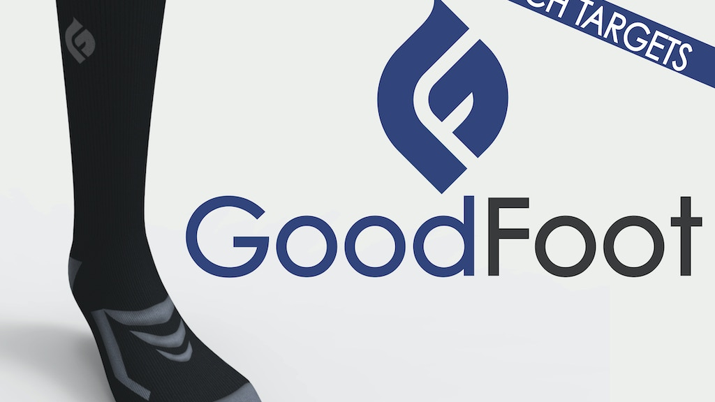 GoodFoot Socks: Performance Socks for the Business World project video thumbnail