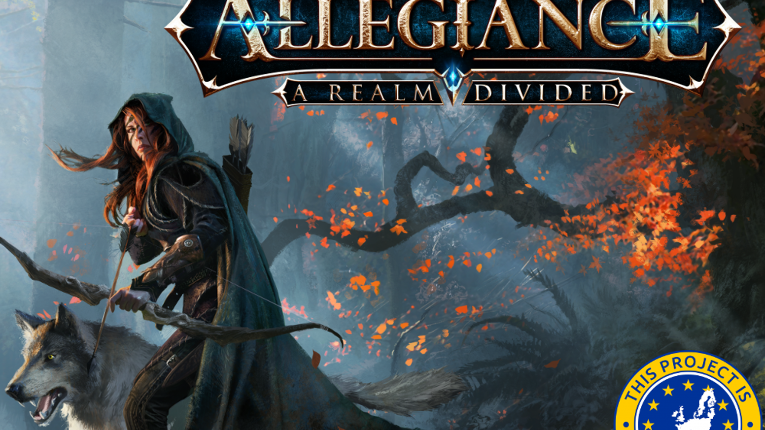 Allegiance A Realm Divided By Underground Games Kickstarter Bolcom Build Your Own Printed Circuit Board Al Williams Fantasy Themed Tabletop Game Card Of Strategy And Tactics Where Players Assume The Roles Powerful Warring Heroes