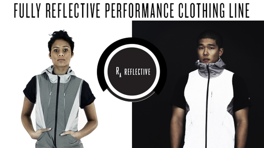 RA Reflective: 360 Reflective Performance for Men and Women project video thumbnail