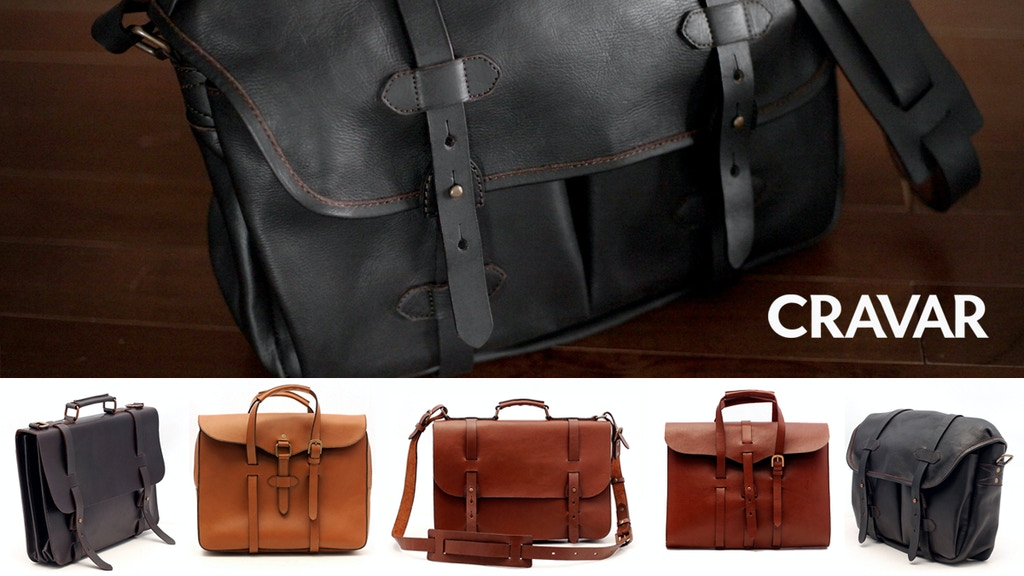 CRAVAR - Leather Bags & Journals project video thumbnail