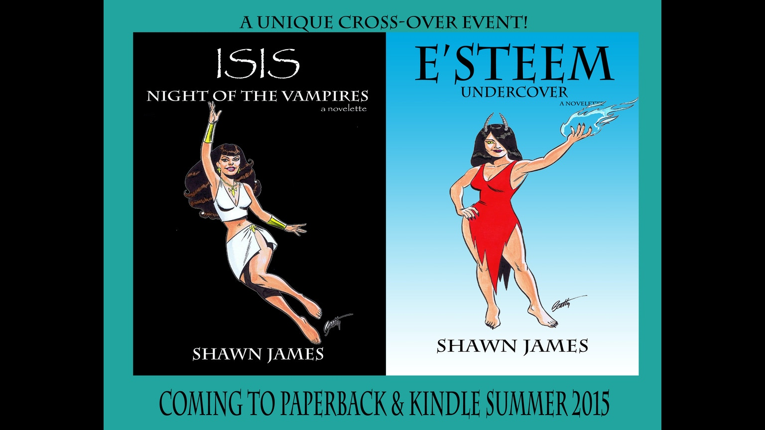 Book Cover Artist For Hire ~ Isis e steem series crossover event cover art project by