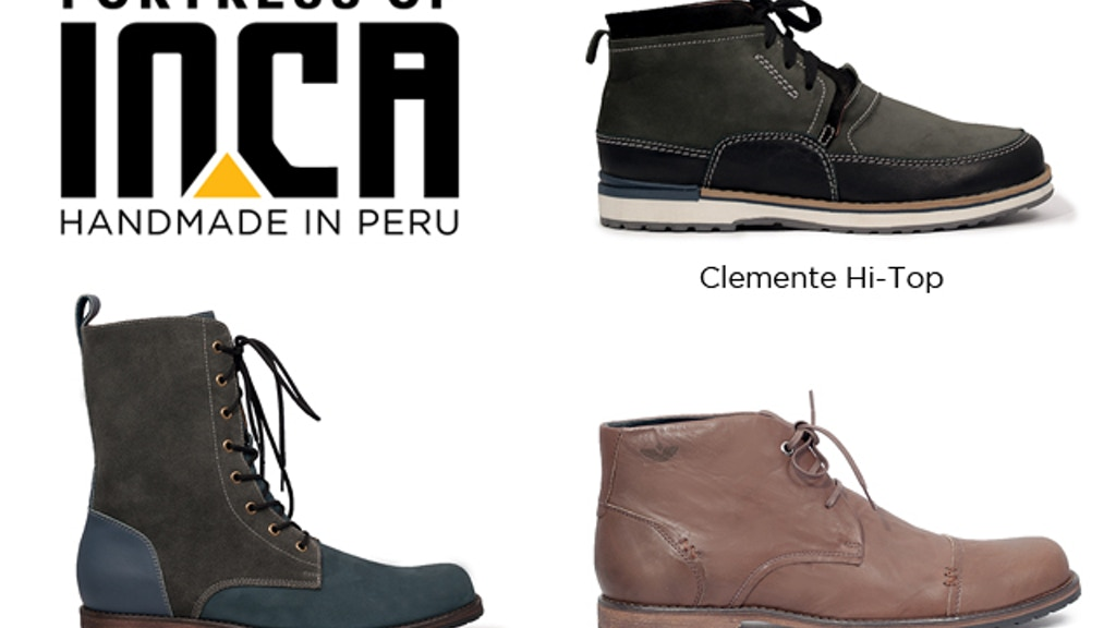 Fortress of Inca - Handmade Shoes - 1 Year Buyback Program project video thumbnail