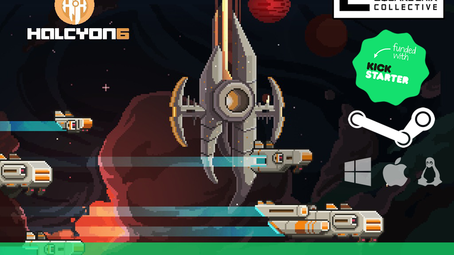 A retro sci-fi strategy survival game with base building, tactical combat, crew management and emergent storytelling.