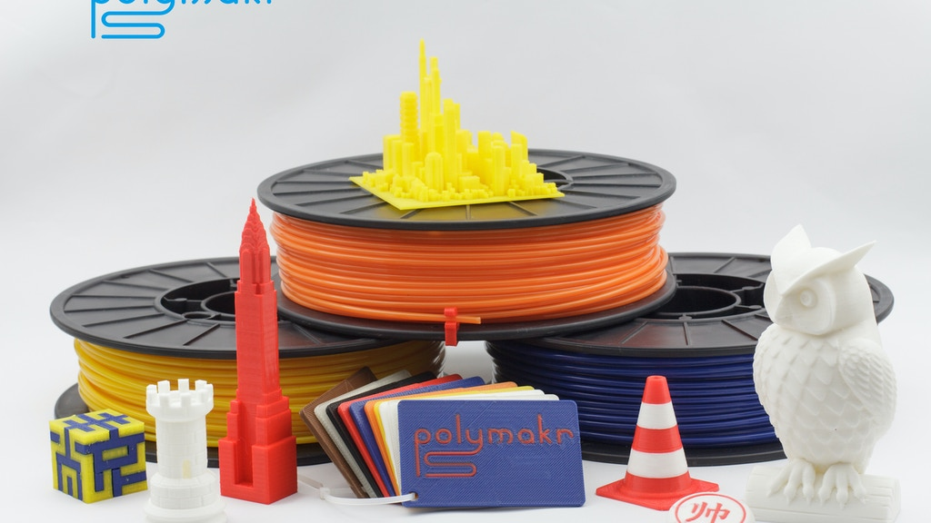 Polymakr: Entirely New Materials for Desktop 3D Printing project video thumbnail
