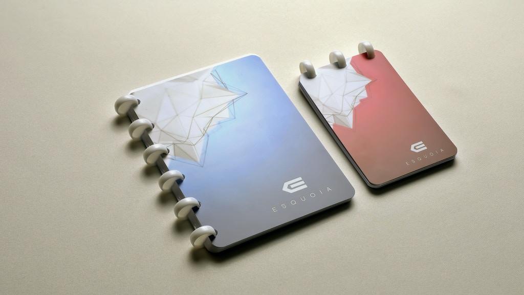 Esquoia - Reusable Pocket Notebook project video thumbnail