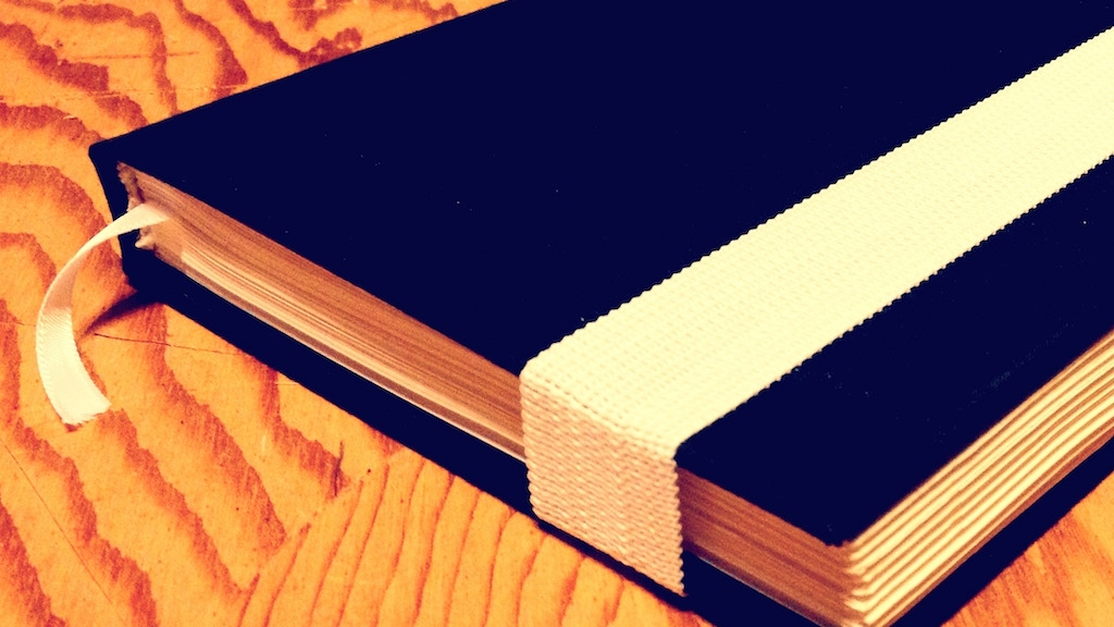 Hand-Bound Hardcover Notebooks project video thumbnail