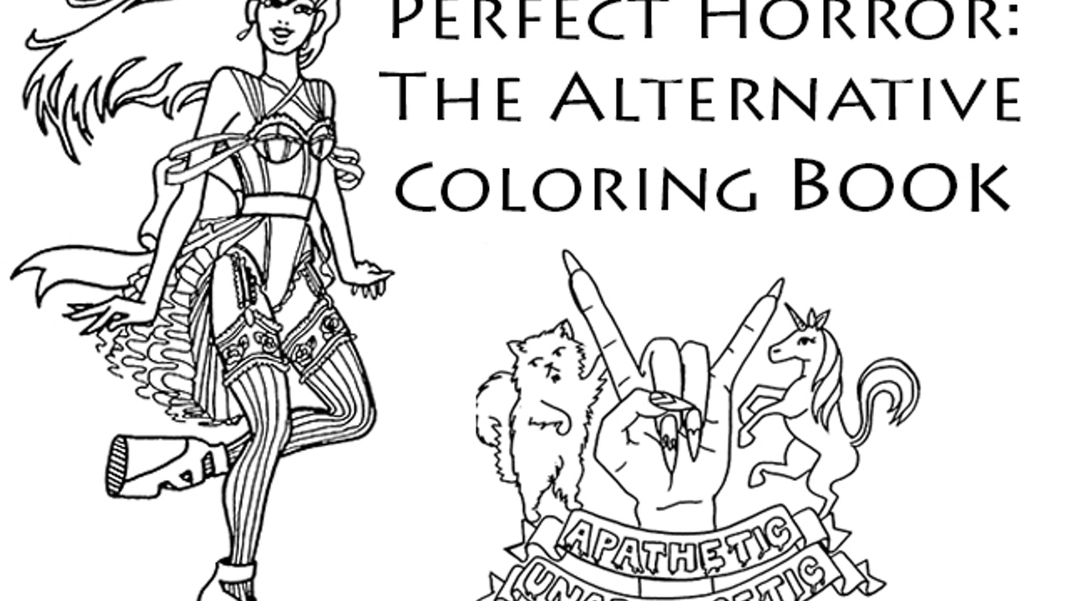 Publish Perfect Horror: The Alternative Coloring Book by Christine ...