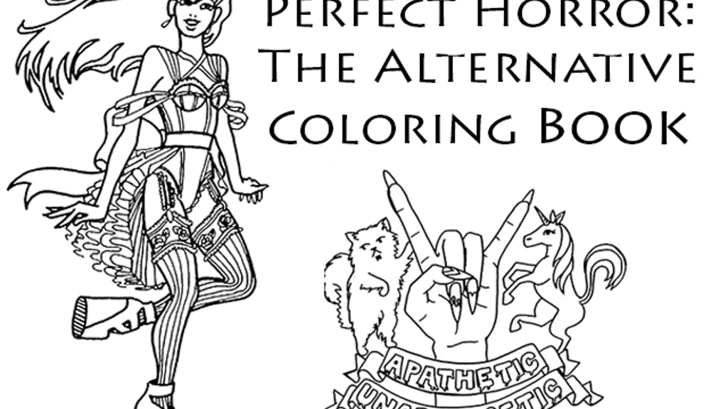 Publish Perfect Horror The Alternative Coloring Book By