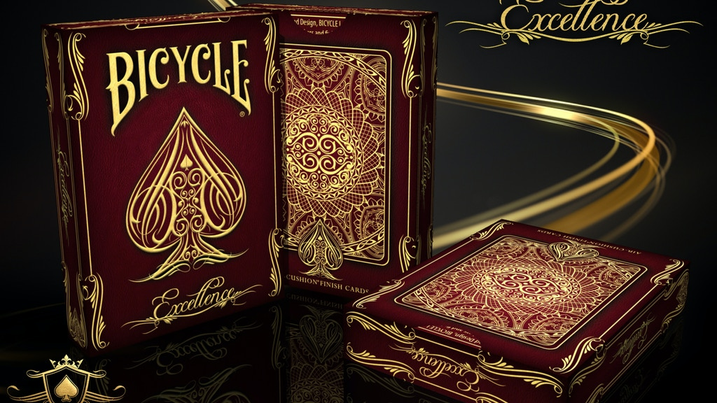 Excellence Bicycle® Playing Cards Deck project video thumbnail