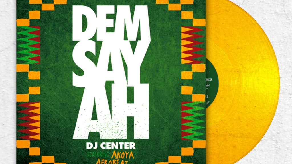 Dem Say Ah Gold Vinyl EP from Open Crates + DJ Center project video thumbnail