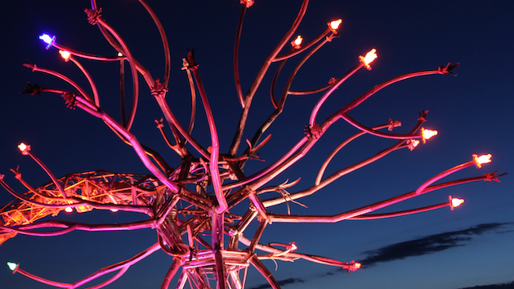 """Soma"" by the Flaming Lotus Girls @ Pier 14 in 2014 - SF, CA project video thumbnail"