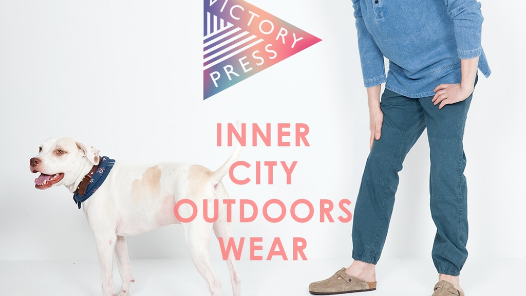 Inner-City Outdoors Wear- Menswear Made in the USA project video thumbnail
