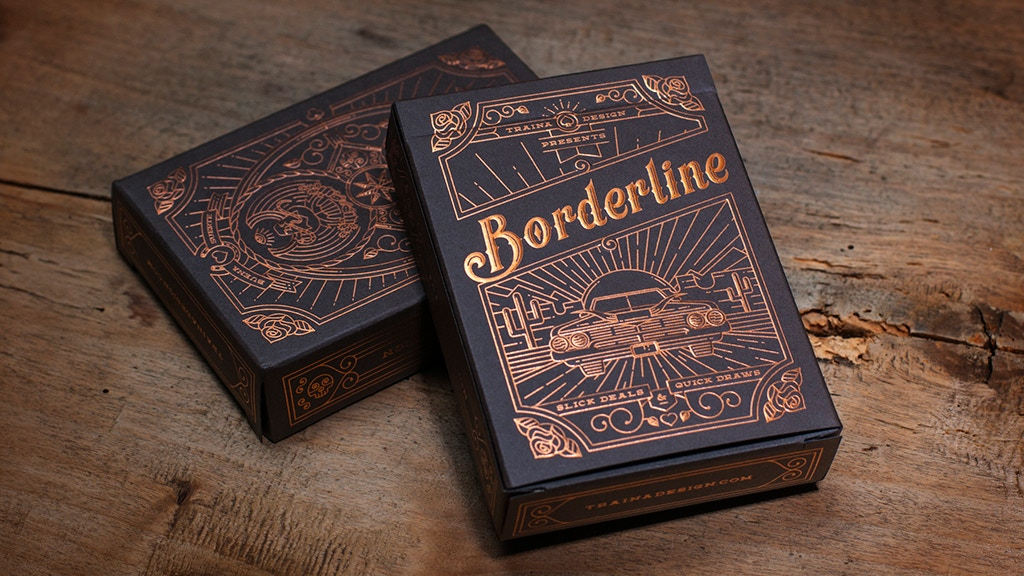 Borderline Playing Cards, printed by USPC project video thumbnail