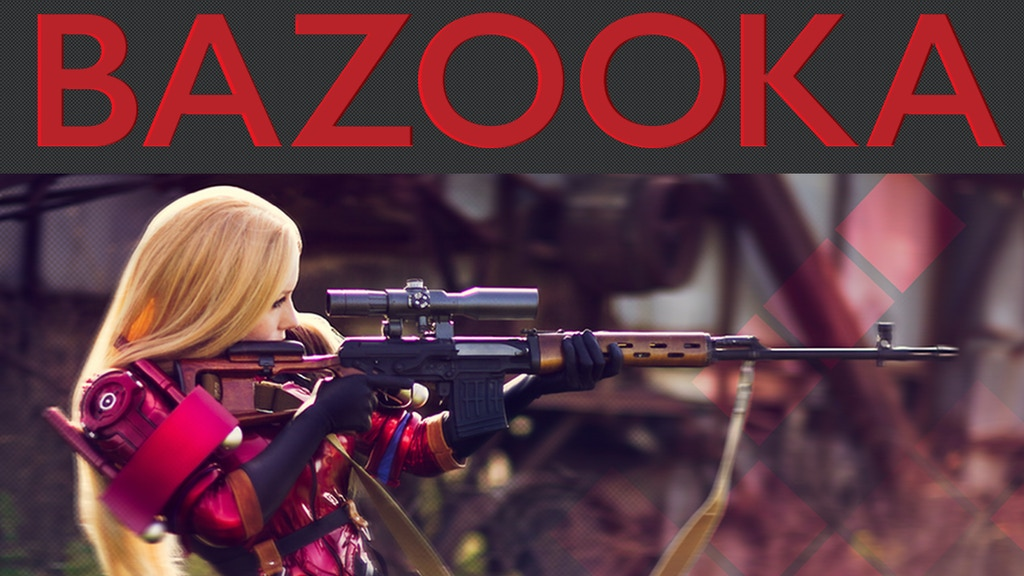 Project: Bazooka - Epic Cosplay Photography project video thumbnail