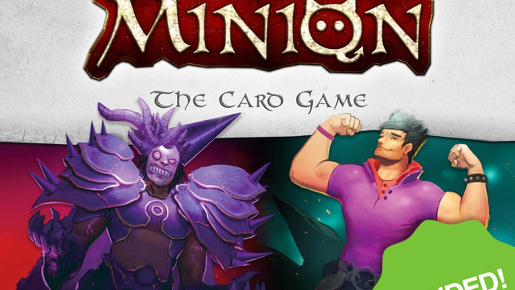 Minion - Epic & Hilarious Multiplayer Strategy Card Game! project video thumbnail