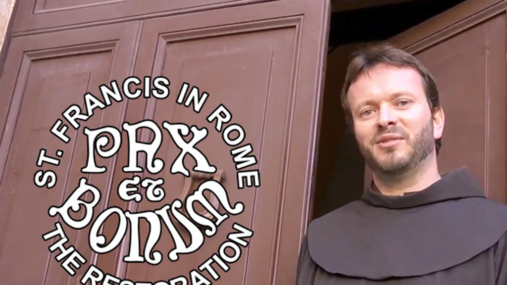 ST. FRANCIS IN ROME - THE RESTORATION project video thumbnail