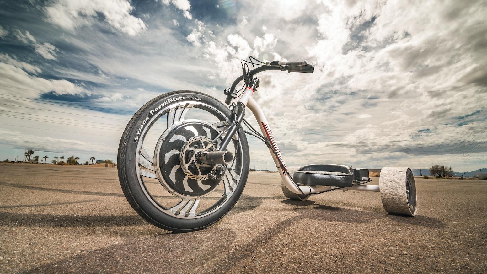 Verrado Electric Drift Trike By Local Motors Motor Wiring Diagram Kickstarter
