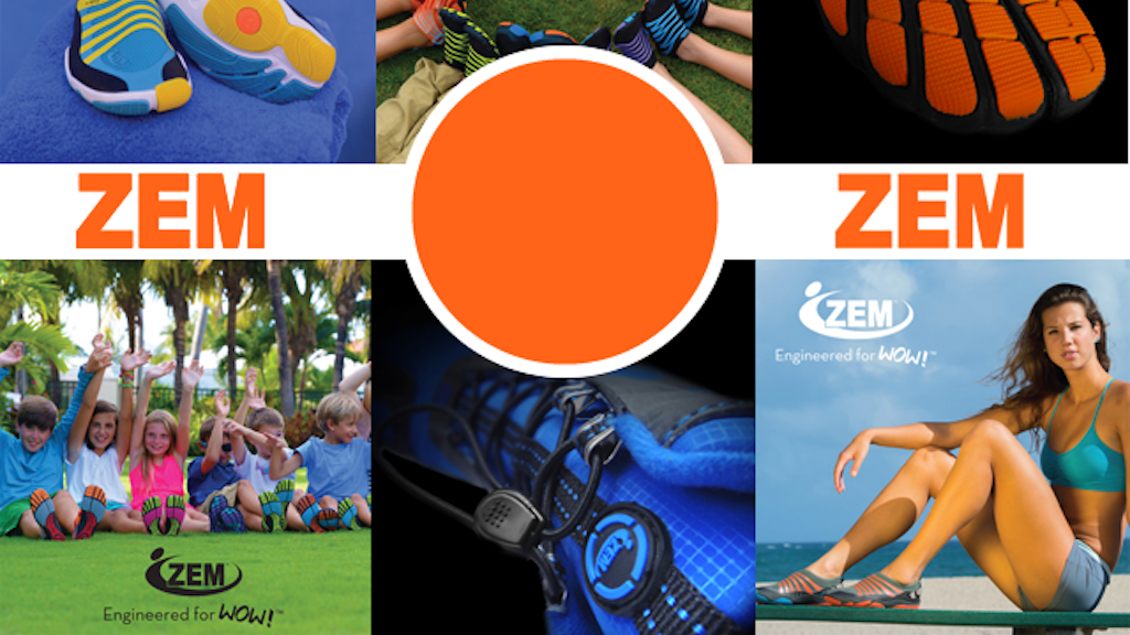 ZEM Shoes - Engineered for WOW! project video thumbnail