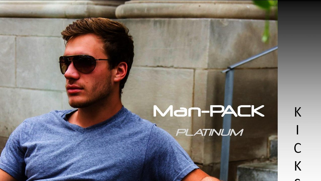 "Man-PACK ""Platinum"" Leather Collection (EDC bags for work) project video thumbnail"