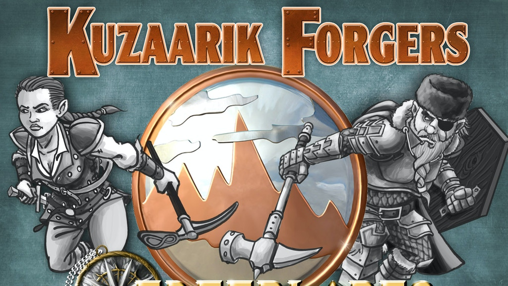 Kuzaarik Forgers: Freeblades Fantasy Miniatures project video thumbnail