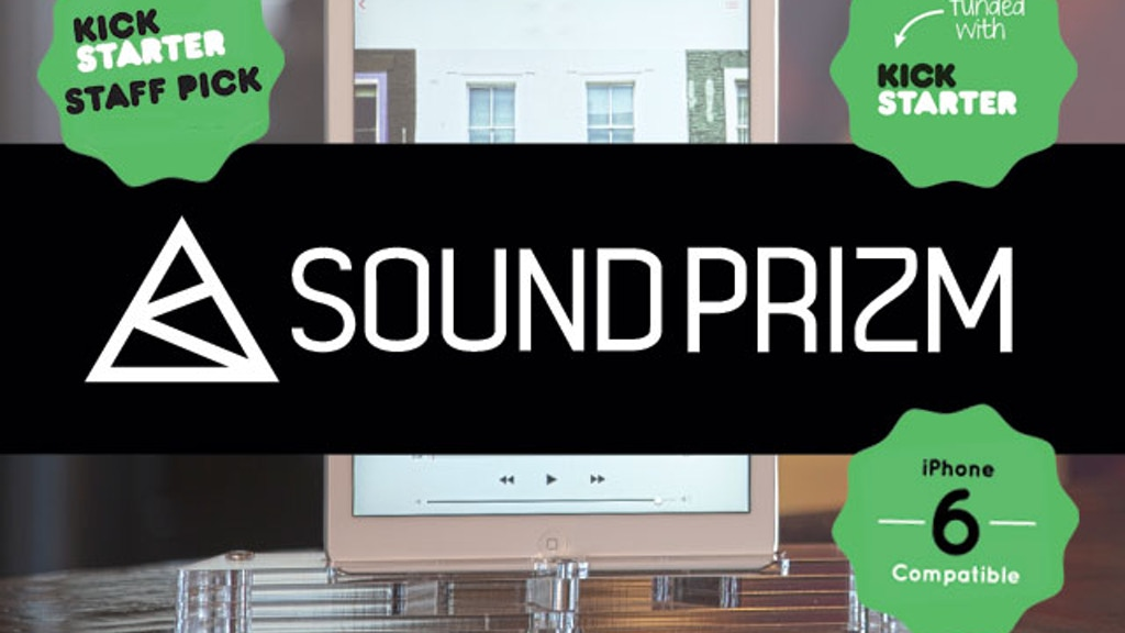 Sound Prizm | Natural Sound Projection & Docking System project video thumbnail