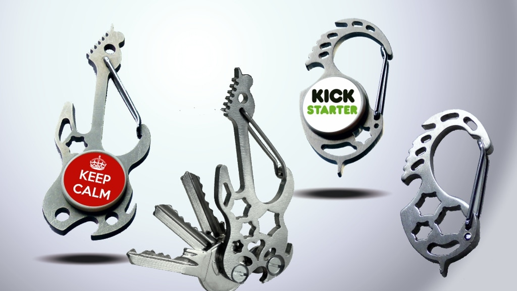 Carabinsi | Smart Multi-function Carabiners project video thumbnail