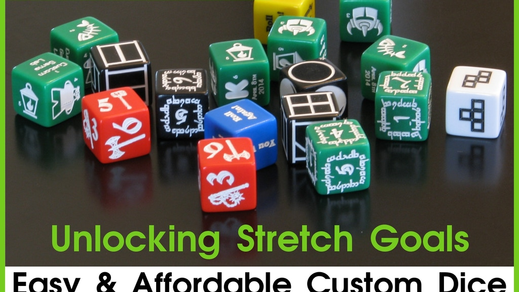 Custom Game Dice - You Design project video thumbnail
