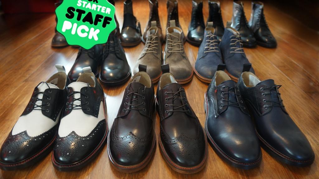NiK Kacy, luxury footwear designed to fit all genders. project video thumbnail