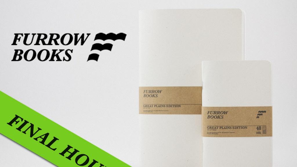 Furrow Books - Minimalist and Versatile Notebooks project video thumbnail