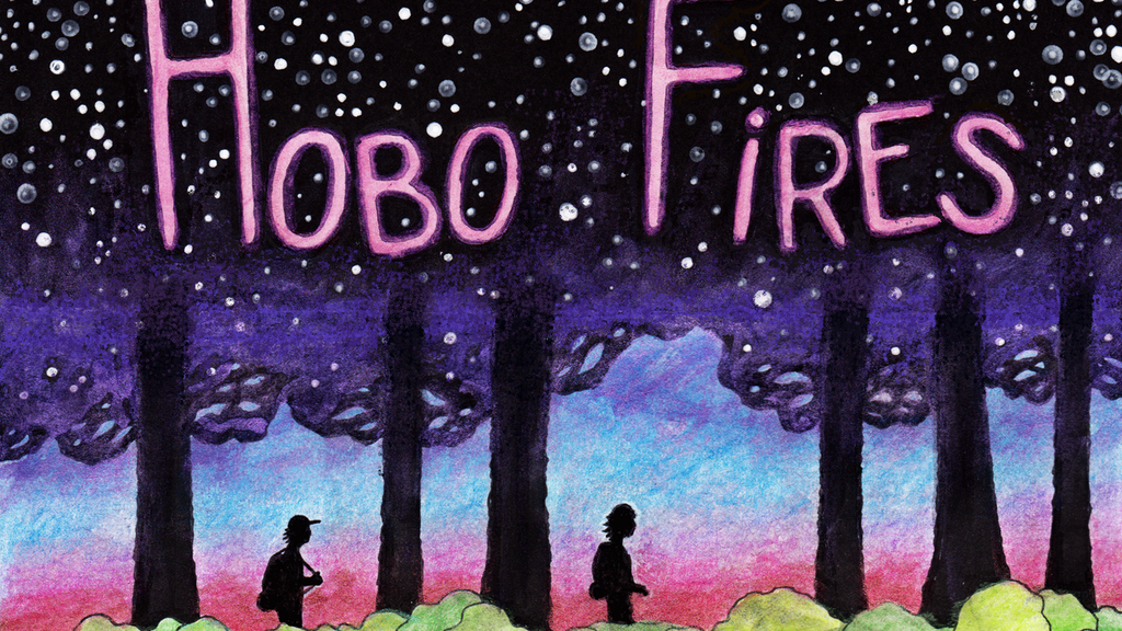 Hobo Fires - graphic novel project video thumbnail