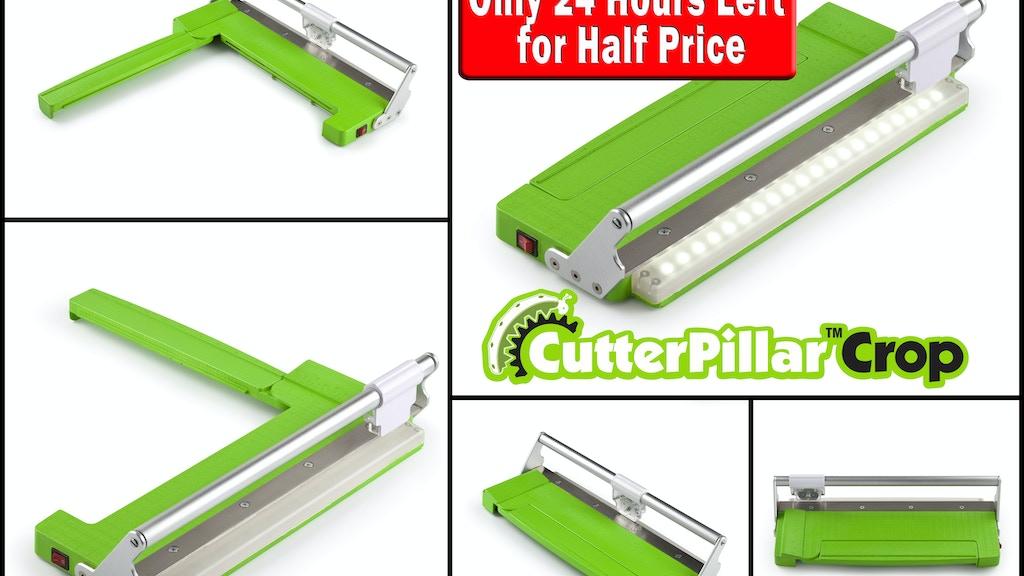 """The CutterPillar """"Crop""""   Paper-Cutter/Trimmer project video thumbnail"""